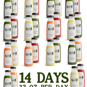 14 days of Juice, 32 oz per day. The Right Greens 678.262.6799 TheRightGreens@gmail.com
