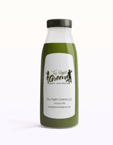 Dark Green Juice from The Right Greens. 678.262.6799 TheRightGreens@gmail.com