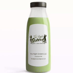 Light Green Juice from The Right Greens. 678.262.6799 TheRightGreens@gmail.com
