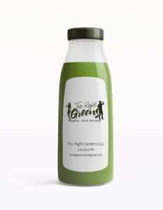 Regular Green Juice from The Right Greens. 678.262.6799 TheRightGreens@gmail.com