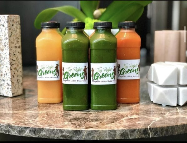 Variety Pack of Juices from The Right Greens. 678.262.6799 TheRightGreens@gmail.com
