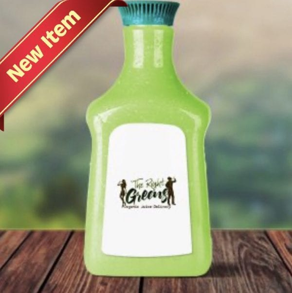New Item Green Juice Gallon from The Right Greens Organic Juice Delivery